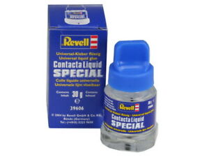 Revell 39606 Contacta Liquid Special - Universal Liquid Glue 30g Chrome Plastic
