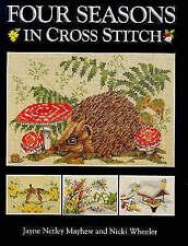 Four Seasons in Cross Stitch by Nicki Wheeler, Jayne Netley Mayhew (Hardback, 1…