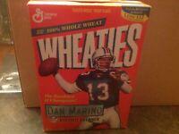 1989 Dan Marino Record Breaker Wheaties Unopened Box