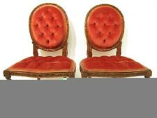 Walnut Louis XV/Neoclassical 20th Century Antique Chairs