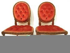 Walnut Art Deco Original 20th Century Antique Chairs