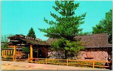 Gurnee, Illinois Postcard RUSTIC MANOR RESTAURANT Front View Chrome 1950s Unused