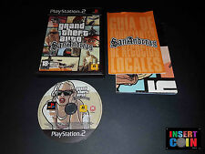 JUEGO GRAND THEFT AUTO SAN ANDREAS (PAL ESP)  PLAYSTATION 2  PS2 PS3