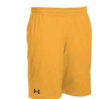 "Under Armour UA HeatGear Men's Pocket Raid 10"" Shorts 1310133 Yellow Gold $35"