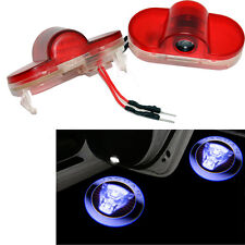 For JAGUAR X XJ XJL X351 TYPE LED Car Door Light Projector Logo Ghost Shadow 3D