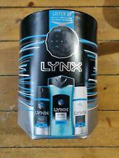 Lynx Ice Chill Trio Shower Gel Spray Antiperspirant & Shower Speaker Gift Set