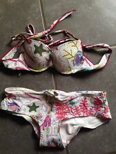 Neuf Maillot 2 Pieces Bikini ETAM T. 34/14 Ans