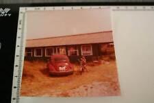 tolles altes Foto - Oldtimer VW Käfer Heckansicht - 70-80er Jahre ?
