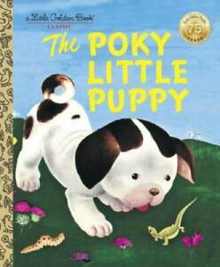 The Poky Little Puppy (A Little Golden Book Classic) - Hardcover - GOOD