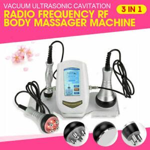 3-In-1 Ultrasonic Cavitation RF Radio Frequency Body Slimming Beauty Machine US