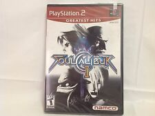 Soul Calibur II (PS2 Playstation 2) - Greatest Hits - Factory Sealed
