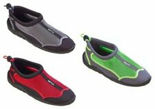 BECO Unisex Zapatos de Agua Calzado Surf Neopreno Rojo/Verde / Plata 36-47