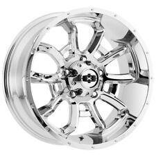 4 Vision 415 Bomb 20x10 6x55 25mm Chrome Wheels Rims 20 Inch Fits More Than One Vehicle