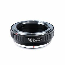 K&F Adapter for Konica AR Lens to Micro 4/3 M4/3 Mount  G3 G2 Olympus Panasonic