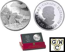 2005 Mingan Archipelago Prf $20 Silver 1oz.9999Fine National Parks Coin(11645)NT