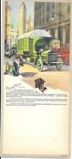 Hy Hintermeister Color Blotter or Calendar – Motor Truck for City Use c1910-15