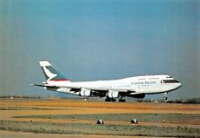 CATHAY PACIFIC BOEING 747-400 Collecton Edtion  Airplane Postcard