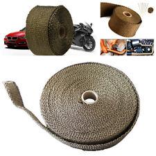 Car Basalt Fiber Titanium Exhaust Pipe/Header Heat Wrap AntiHot Insulation Cloth