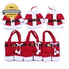 Santa Claus Flannel Christmas Table Cutlery Holders