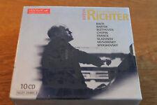 Svjatoslav Richter Edition Vol. 1-10 [10 CD Box] Melodiya NEU OVP Bartok Franck
