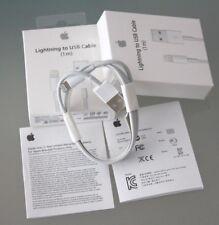 Original Lightning Ladekabel 1m USB Für iPhone, iPad, iPod Mac MacBook Air & Pro