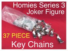 Homies Series 3 Joker Figure Key Chains 5 piece Only