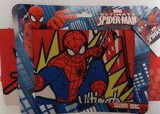 Marvel Ultimate Spiderman Swim/School/Gym/Sport/PE Bag Drawstring~NEW~FREE UKP&P