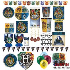 Harry Potter Birthday Party Supplies Boys Girls Childrens Tableware Decorations
