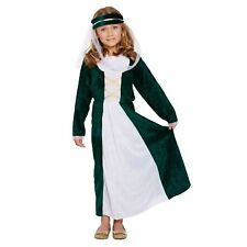 Medivel Maiden Girls Fancy Dress Costume Medium Size Age 7-9 Years World Book