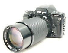 NIKON F90X N90S FILM SLR CAMERA VIVITAR 70-210MM F2.8-4 MACRO LENS FREE SHIPPING