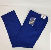 Fila Sport Blue Flat Front Golf Putter Pants  30X30 30X32 30X34