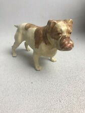 Vintage Ideal Toy Co Dog - Celluloid Plastic Hand Painted - Bulldog, Very Nice!