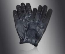 Guantes y manoplas de hombre en color principal negro de piel