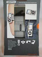 Griffin iClear Case Armband Belt Clip For iPod Nano 5th Generation BRAND NEW