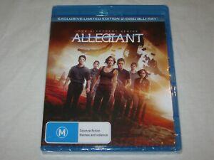 Allegiant - The Divergent Series - Brand New & Sealed - Region B - Blu Ray