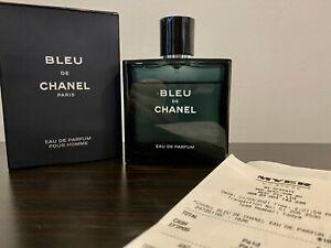 Bleu De Chanel 100ml Eau de Parfum Mens Fragrance