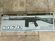 Rare Marui model H&K G3-A3 full stock spring piston airsoft made in Japan