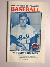The Basics of Playing Baseball by Tommy Holmes New York Mets 1980's