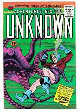 ADVENTURES INTO THE UNKNOWN #157 - 1965 Silver Age - Nemesis - Very Fine