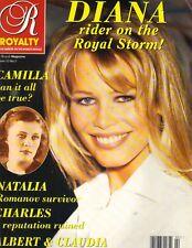 CLAUDIA SCHIFFER UK Royalty Magazine 1993 VOL 12 NO 2 PRINCESS DIANA CAMILLA