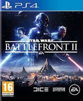 STAR WARS BATTLEFRONT II 2 EN ESPAÑOL CASTELLANO NUEVO PRECINTADO PS4