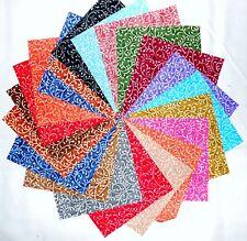 "75 4 inch Quilting Fabric Squares Beautiful Freeway Swirls !!!!!4"""