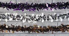 Décorations de fête guirlandes violette pour la maison