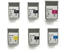 6 pack combo Canon ipf 650 655 750 755 760 765 PFI-102 INK imagePROGRAF