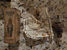 Vintage very rare sparta Wisconsin perron spark plug w/ box
