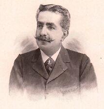 Portrait Albert Daninos-Pacha Alger Archéologie Egyptologie