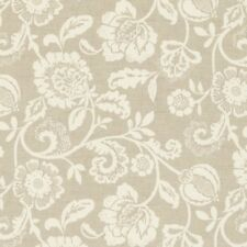 Clarke and Clarke Eliza Linen Floral Design Curtain Upholstery Craft Fabric