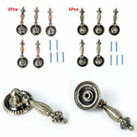 5 Tear Drop Knobs Handles Pulls Bronze Kitchen/Bathroom Cabinet Drawer Hardware