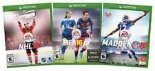 EA SPORTS VALUE PACK: NHL 16 / FIFA 16 / MADDEN NFL 16 (3-PACK) (XBOX (XBOX ONE)
