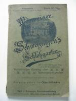 1897 - Wegweiser Schwetzingen's Schloßgarten - Otto Schwarz - m. Plan & 12 Illus